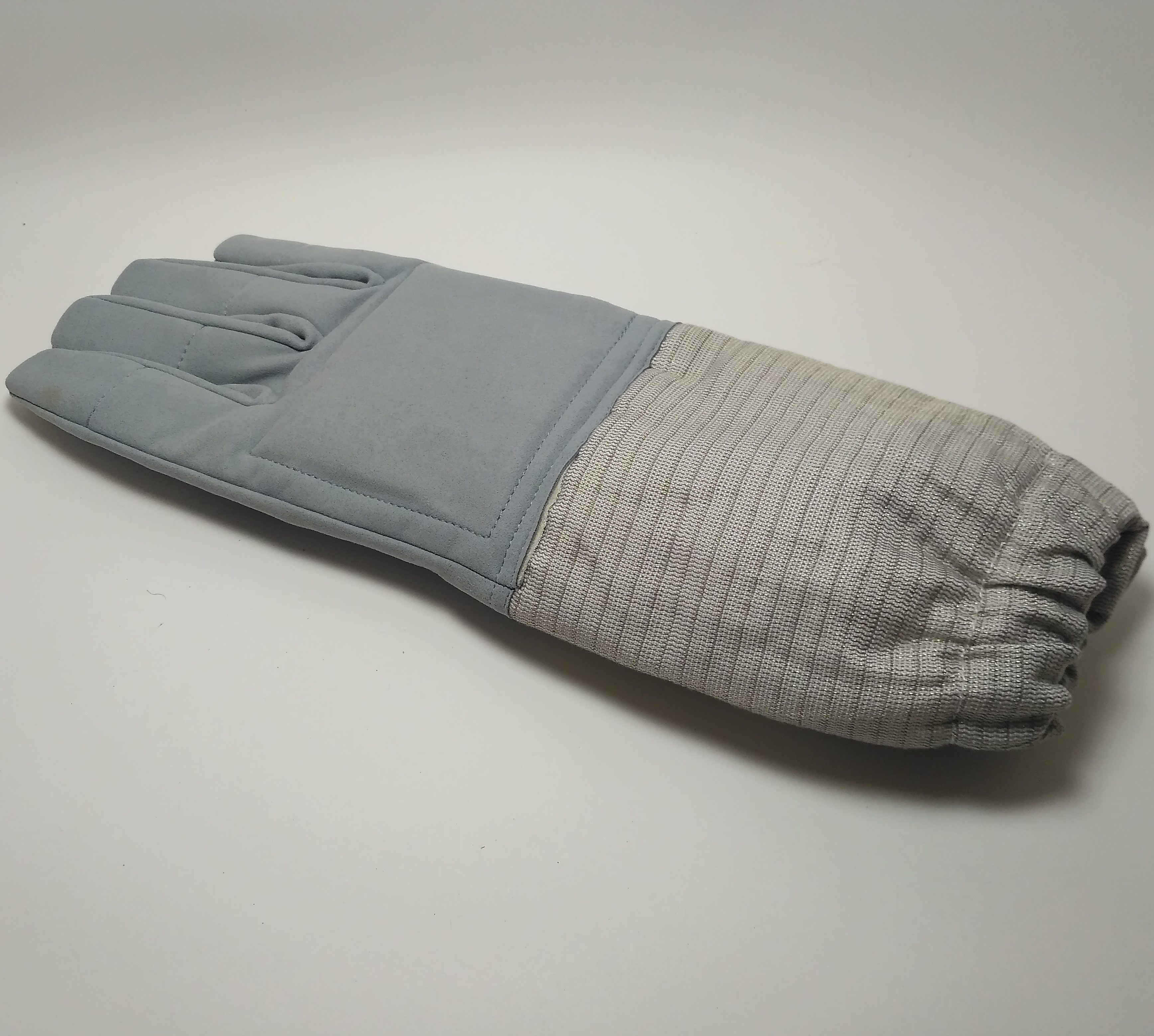 Перчатка сабля кожанная с электроманжетом_ Beyond-502(1)