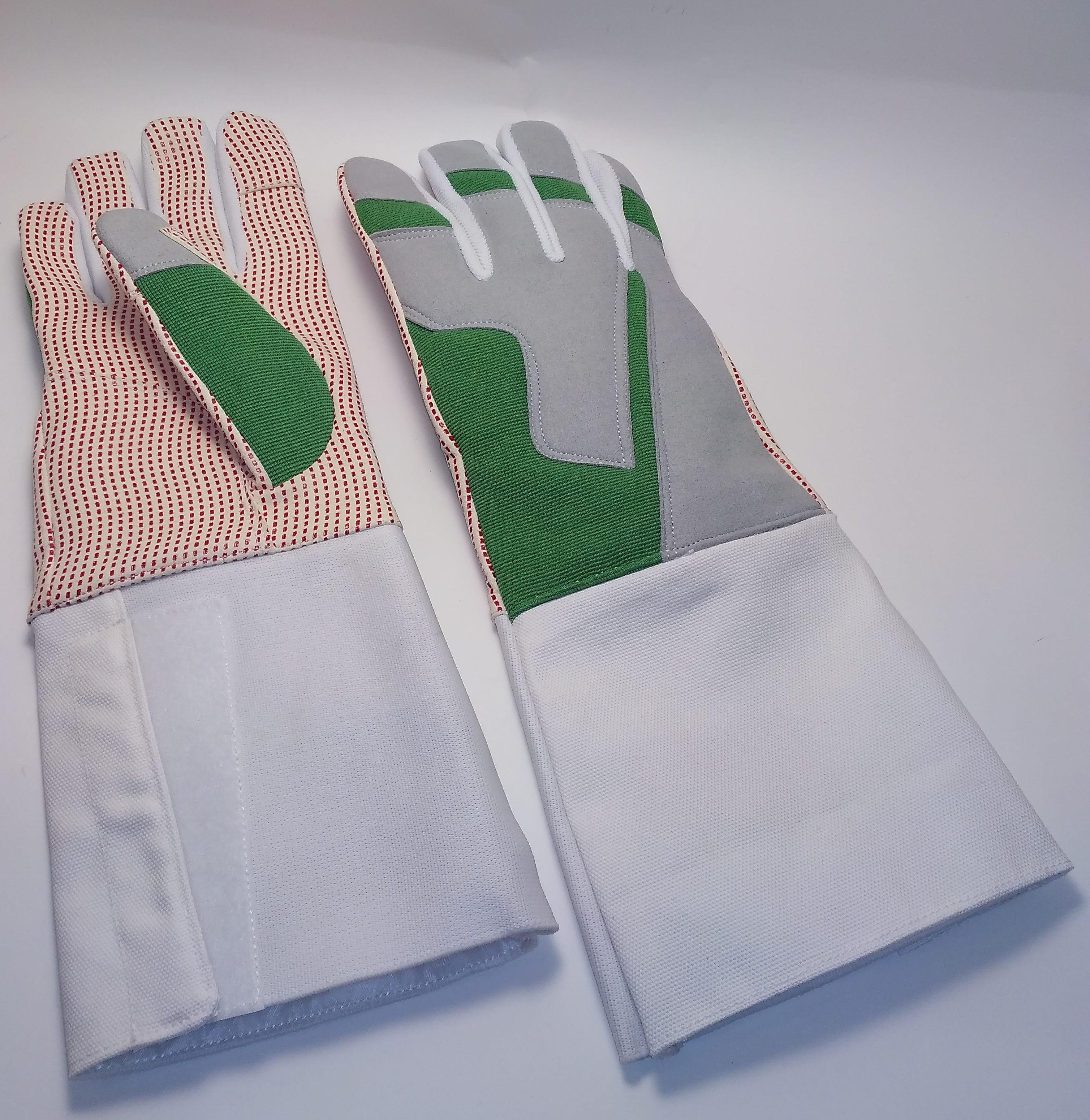 Перчатка с нескользящим покрытием GREEN Шпага_рапира_AME-07