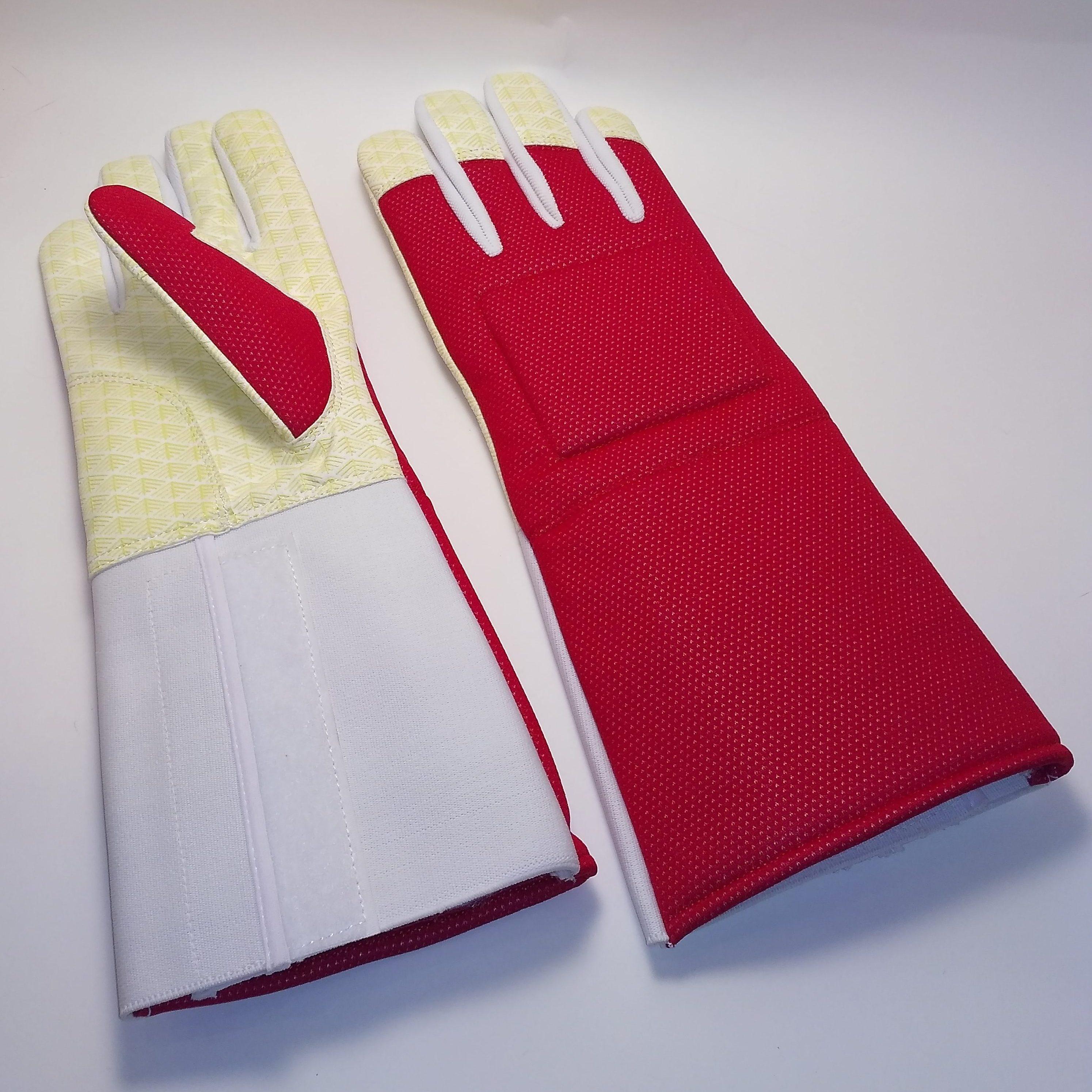 Перчатка с нескользящим покрытием RED Шпага_рапира_AME-01