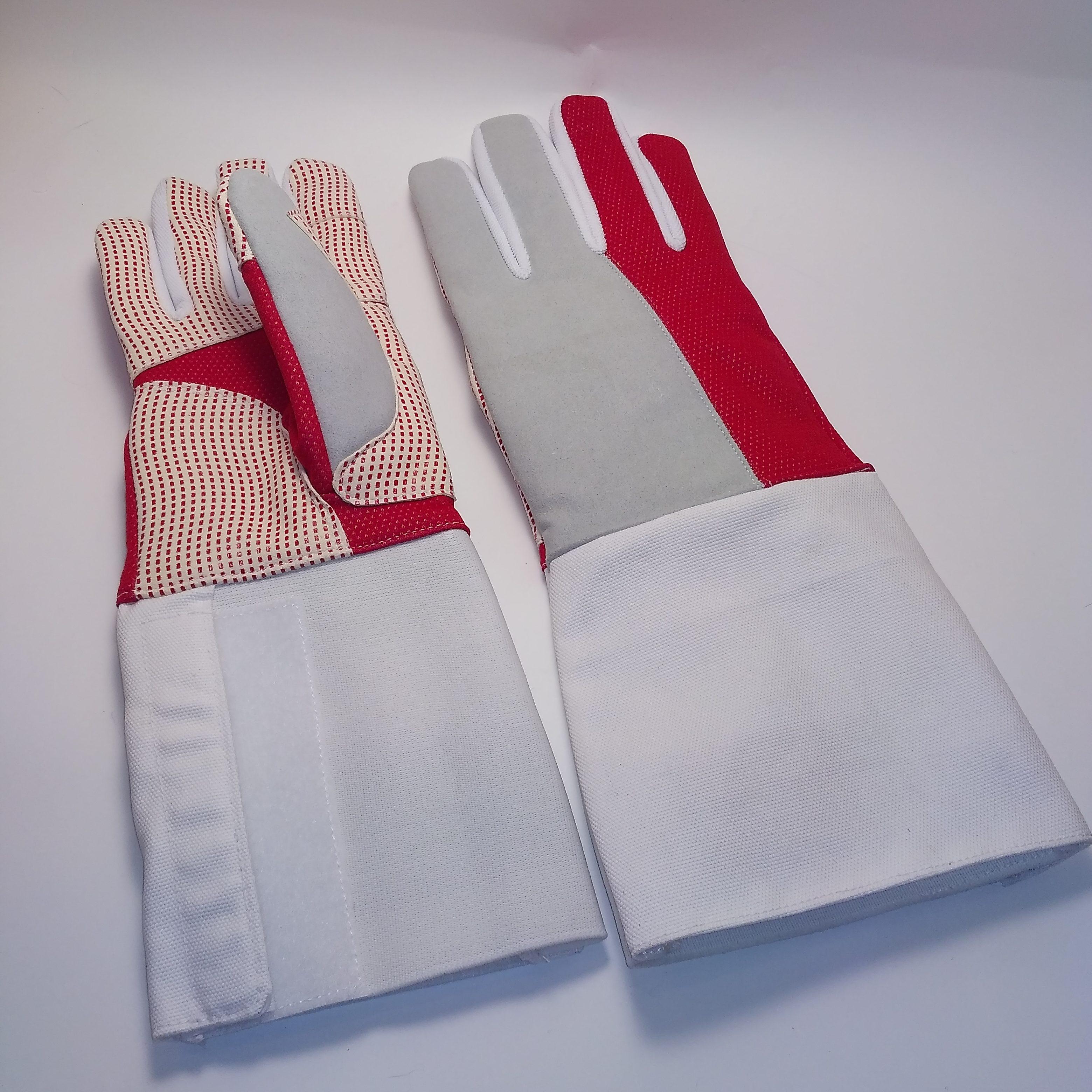 Перчатка с частично нескользящим покрытием КОМБИ Шпага_рапира_AME-04