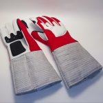 Перчатка с частично нескользящим покрытием Сабля_AME-03-R