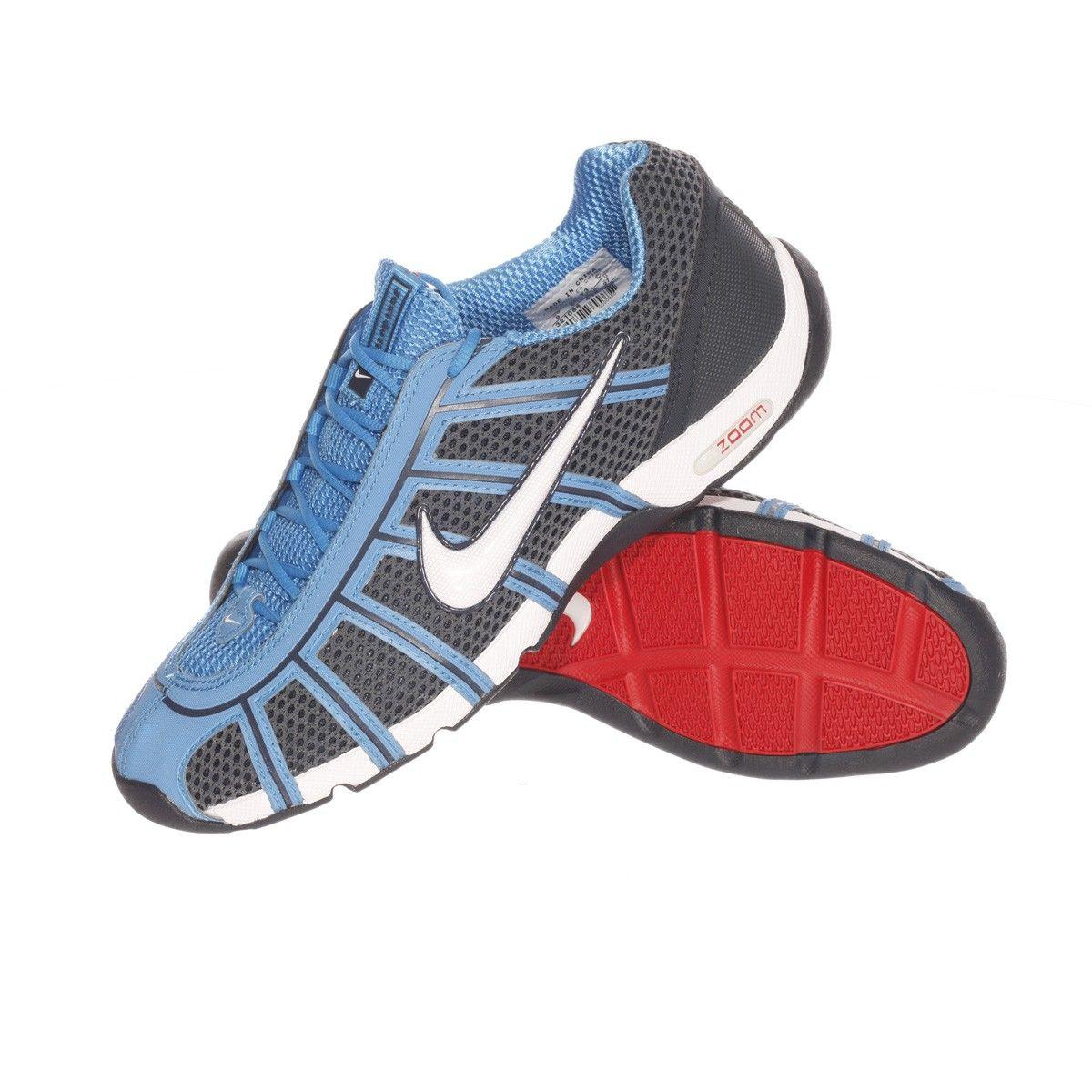 Обувь фехтовальная NIKE Air Zoom Fencer OBSIDIANWHITE-LT PHOTO BLUE 414